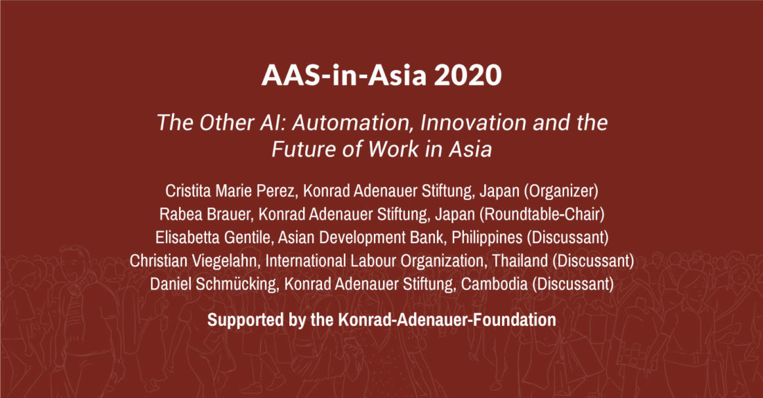 Automation, Innovation and the Future of Work in Asia
